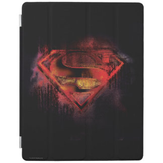 Superman S-Shield | Painted Logo iPad Cover