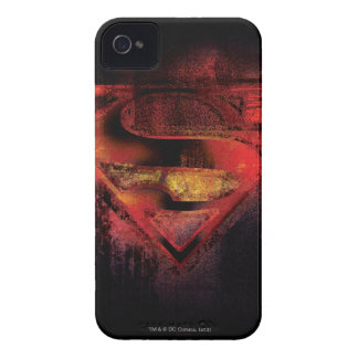 Superman S-Shield | Painted Logo iPhone 4 Covers
