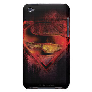 Superman S-Shield | Painted Logo iPod Case-Mate Cases