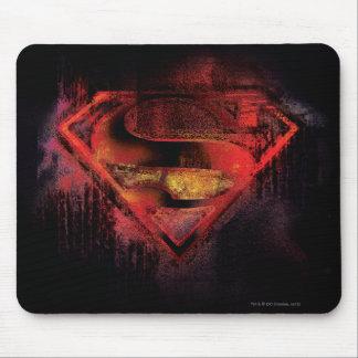 Superman S-Shield | Painted Logo Mouse Mat