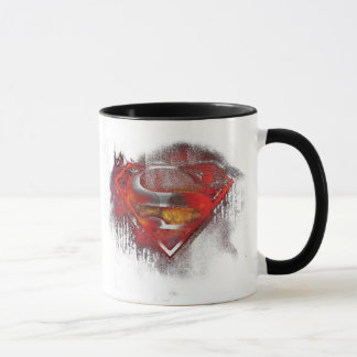 Superman S-Shield | Painted Logo Mug
