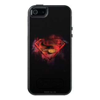 Superman S-Shield | Painted Logo OtterBox iPhone 5/5s/SE Case