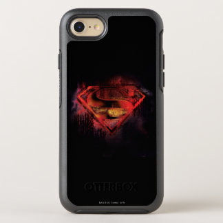 Superman S-Shield | Painted Logo OtterBox Symmetry iPhone 7 Case