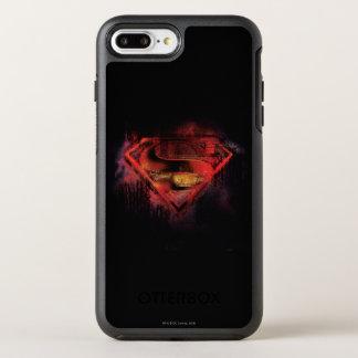 Superman S-Shield | Painted Logo OtterBox Symmetry iPhone 7 Plus Case