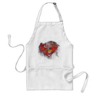 Superman S-Shield | Painted Logo Standard Apron