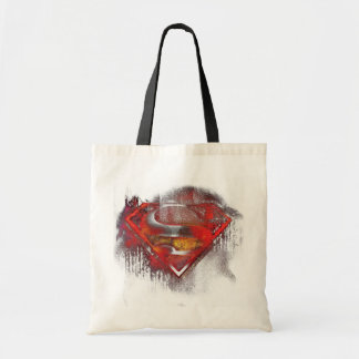 Superman S-Shield | Painted Logo Tote Bag