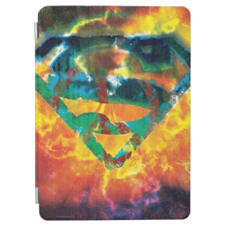 Superman S-Shield | Peace Stamped Logo iPad Air Cover