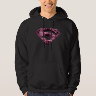 Superman S-Shield | Pink Star Burst Logo Hoodie