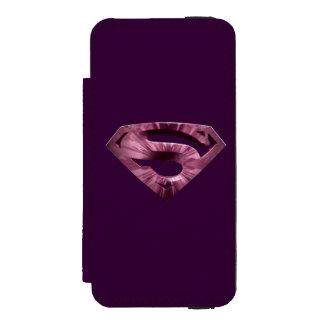Superman S-Shield | Pink Star Burst Logo Incipio Watson™ iPhone 5 Wallet Case