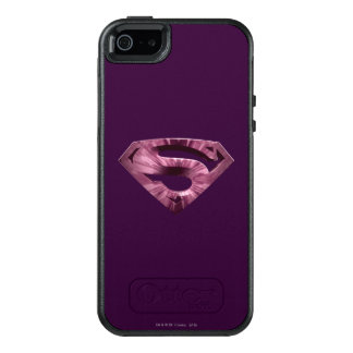 Superman S-Shield | Pink Star Burst Logo OtterBox iPhone 5/5s/SE Case