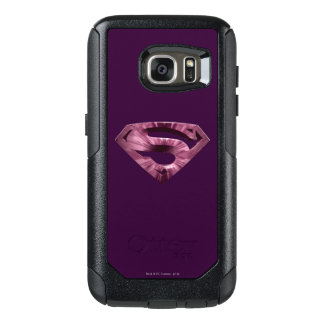 Superman S-Shield | Pink Star Burst Logo OtterBox Samsung Galaxy S7 Case