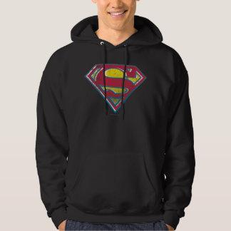 Superman S-Shield   Printed Logo Hoodie