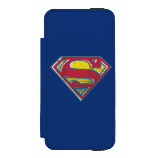 Superman S-Shield | Printed Logo Incipio Watson™ iPhone 5 Wallet Case