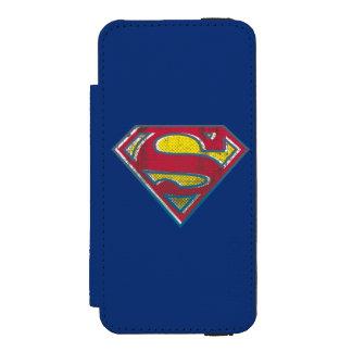 Superman S-Shield | Printed Logo Incipio Watson™ iPhone 5 Wallet Case