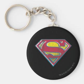 Superman S-Shield | Printed Logo Key Ring