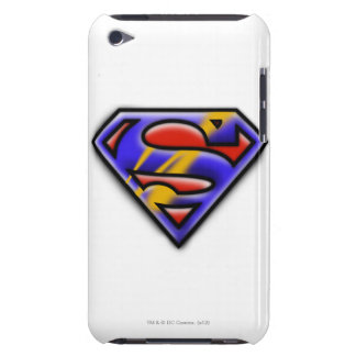Superman S-Shield | Purple Airbrush Logo iPod Touch Cover