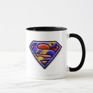 Superman S-Shield | Purple Airbrush Logo Mug