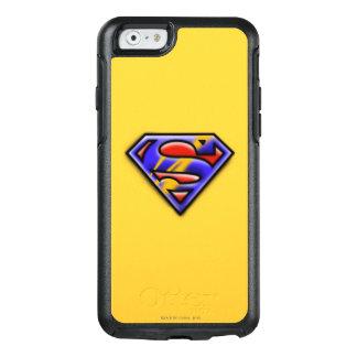 Superman S-Shield | Purple Airbrush Logo OtterBox iPhone 6/6s Case