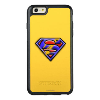 Superman S-Shield | Purple Airbrush Logo OtterBox iPhone 6/6s Plus Case