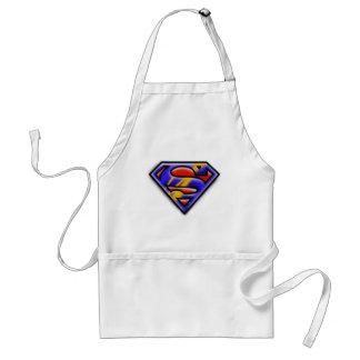 Superman S-Shield | Purple Airbrush Logo Standard Apron