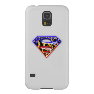 Superman S-Shield | Purple-Red Graffiti Logo Case For Galaxy S5