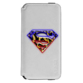 Superman S-Shield | Purple-Red Graffiti Logo Incipio Watson™ iPhone 6 Wallet Case