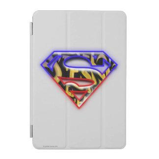Superman S-Shield | Purple-Red Graffiti Logo iPad Mini Cover