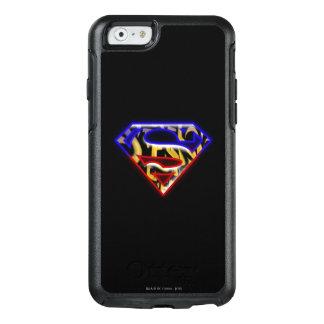 Superman S-Shield | Purple-Red Graffiti Logo OtterBox iPhone 6/6s Case