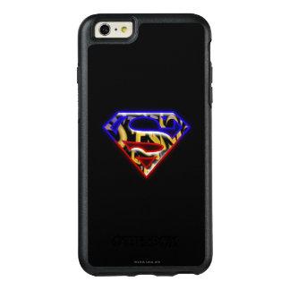 Superman S-Shield | Purple-Red Graffiti Logo OtterBox iPhone 6/6s Plus Case
