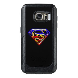 Superman S-Shield | Purple-Red Graffiti Logo OtterBox Samsung Galaxy S7 Case