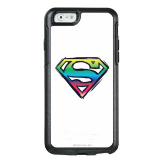 Superman S-Shield | Rainbow Logo 2 OtterBox iPhone 6/6s Case