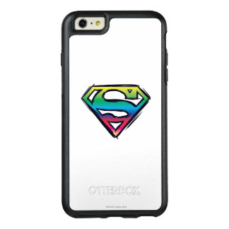 Superman S-Shield | Rainbow Logo 2 OtterBox iPhone 6/6s Plus Case