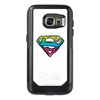 Superman S-Shield | Rainbow Logo 2 OtterBox Samsung Galaxy S7 Case