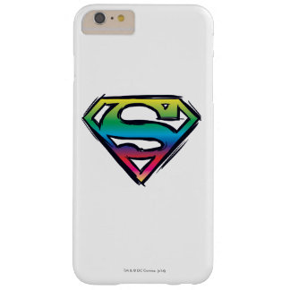Superman S-Shield | Rainbow Logo Barely There iPhone 6 Plus Case