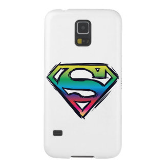 Superman S-Shield | Rainbow Logo Galaxy S5 Case