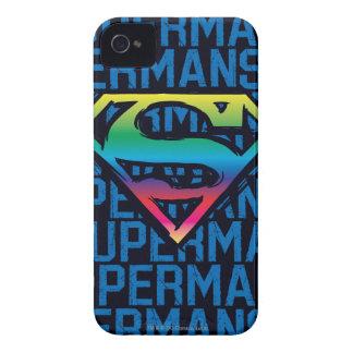 Superman S-Shield | Rainbow Logo iPhone 4 Case