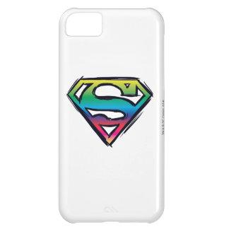 Superman S-Shield | Rainbow Logo iPhone 5C Case