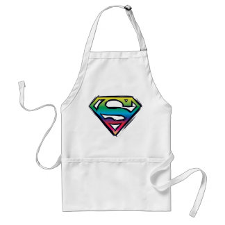 Superman S-Shield | Rainbow Logo Standard Apron