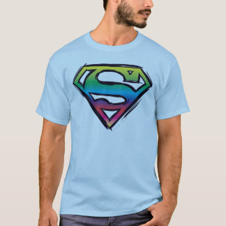 Superman S-Shield | Rainbow Logo T-Shirt