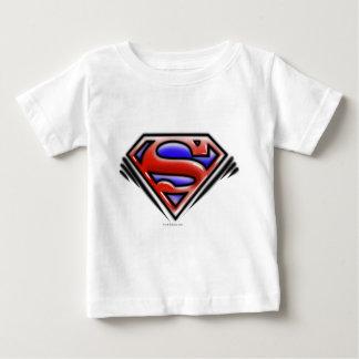 Superman S-Shield | Red Airbrush Logo Baby T-Shirt
