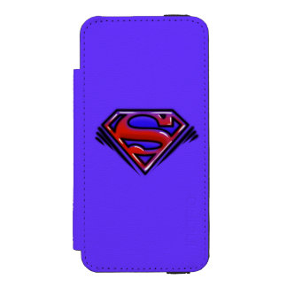 Superman S-Shield | Red Airbrush Logo Incipio Watson™ iPhone 5 Wallet Case