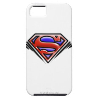 Superman S-Shield | Red Airbrush Logo iPhone 5 Covers