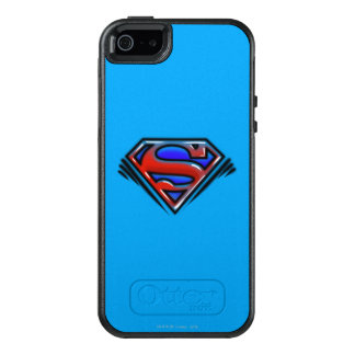 Superman S-Shield | Red Airbrush Logo OtterBox iPhone 5/5s/SE Case