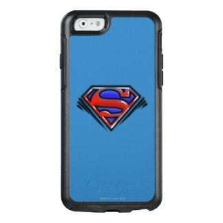 Superman S-Shield | Red Airbrush Logo OtterBox iPhone 6/6s Case