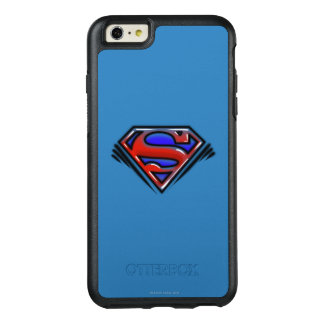 Superman S-Shield | Red Airbrush Logo OtterBox iPhone 6/6s Plus Case