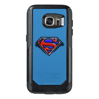 Superman S-Shield | Red Airbrush Logo OtterBox Samsung Galaxy S7 Case