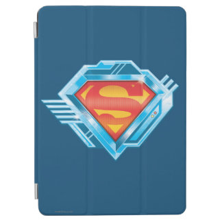 Superman S-Shield | Red and Blue Metal Logo iPad Air Cover