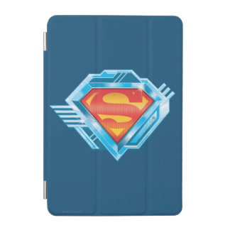 Superman S-Shield | Red and Blue Metal Logo iPad Mini Cover