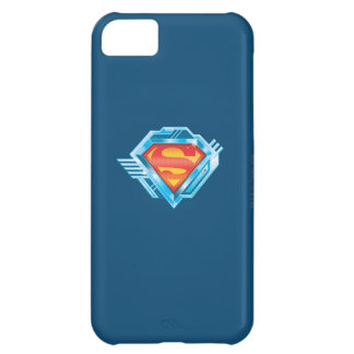 Superman S-Shield | Red and Blue Metal Logo iPhone 5C Case