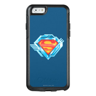 Superman S-Shield | Red and Blue Metal Logo OtterBox iPhone 6/6s Case